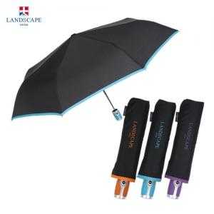 LS 3단전자동폰지컬러바이어스(방풍기능) [우산 제작 대량구매 로고인쇄 문의는 네이뽕]