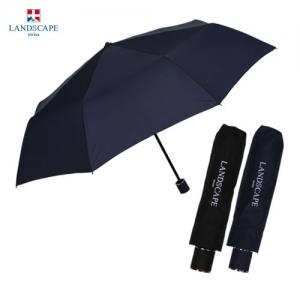 LS 3단수동폰지무지(방풍기능) [우산로고 우산원단인쇄 우산손잡이인쇄 학교우산 판촉우산 회사우산 우산소량인쇄]